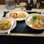 「外食感想」餃子の王将 花見川店 ラーメンセット